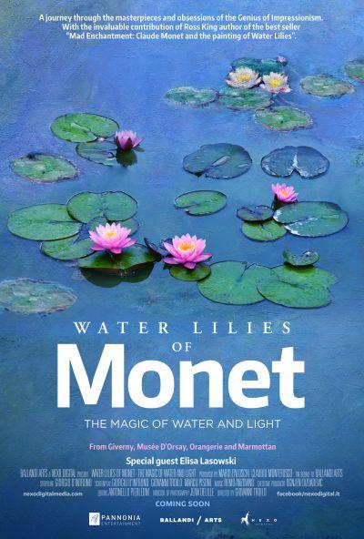 A művészet templomai: Monet és vízililiomai – Plakát
