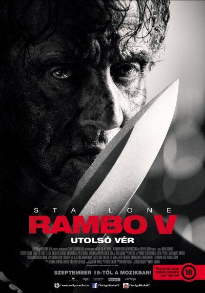 Rambo V – Utolsó vér – Plakát