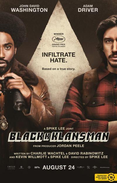 Csuklyások - BlacKkKlansman – Plakát