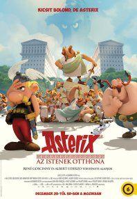 Asterix: Az istenek otthona – Plakát