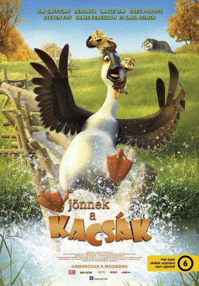 Jönnek a kacsák – Plakát