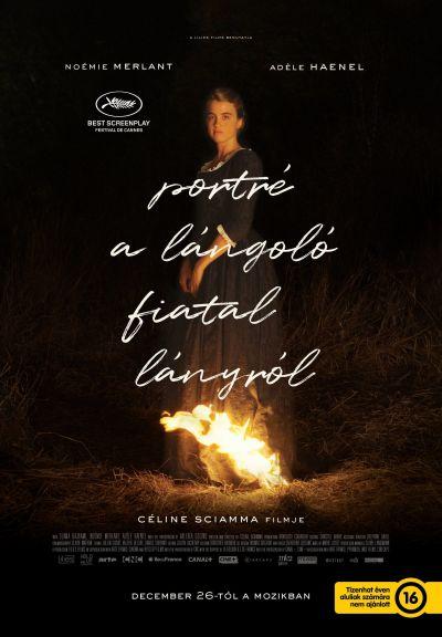Portré a lángoló fiatal lányról – Plakát
