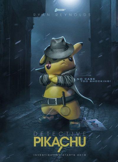 Detective Pikachu – Plakát