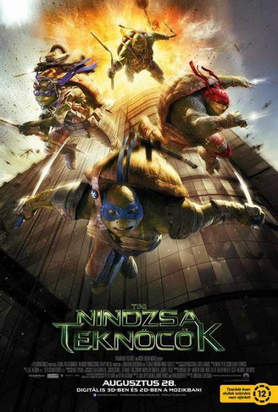 Tini nindzsa teknőcök – Plakát