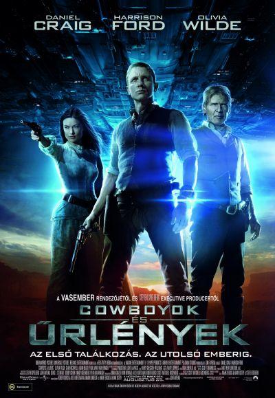 Cowboyok és űrlények – Plakát