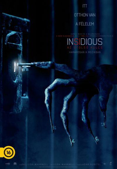 Insidious: Az utolsó kulcs – Plakát