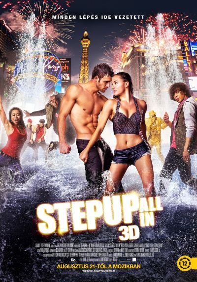 Step Up - All In – Plakát