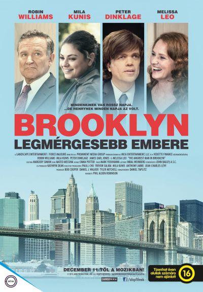 Brooklyn legmérgesebb embere – Plakát