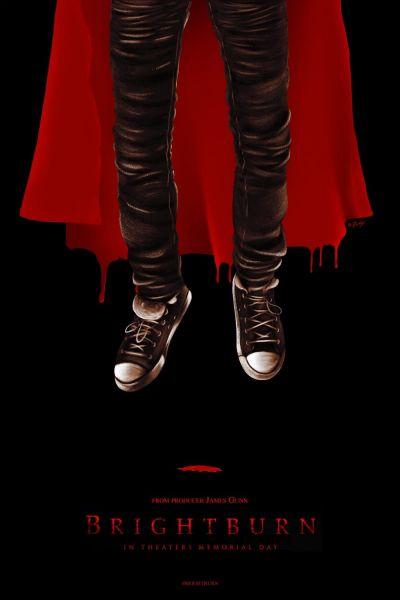 BrightBurn – A lángoló fiú – Plakát