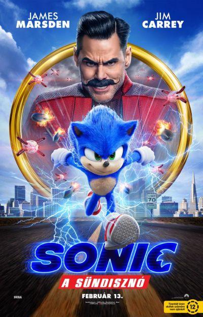 Sonic, a sündisznó – Plakát