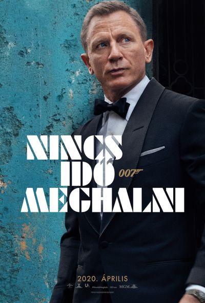 007 Nincs idő meghalni – Plakát