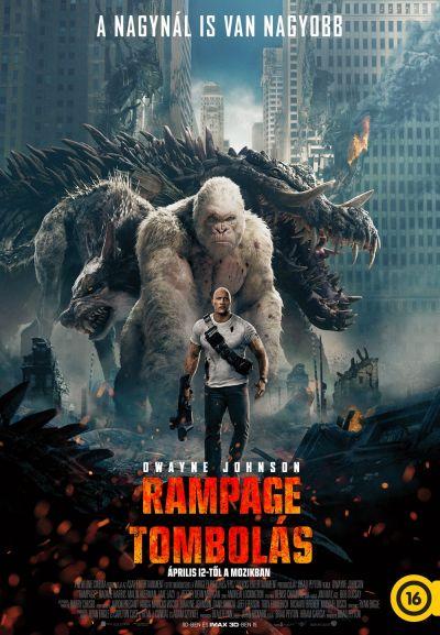 Rampage - Tombolás – Plakát