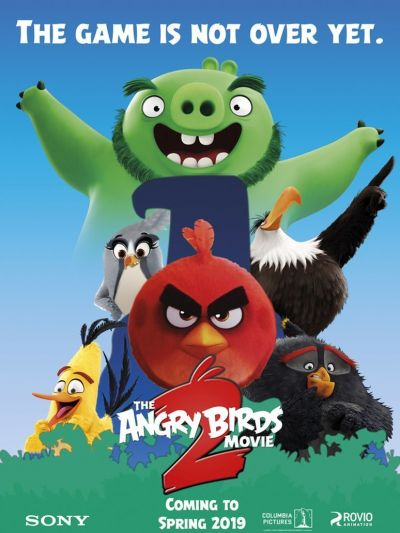 The Angry Birds Movie 2 – Plakát