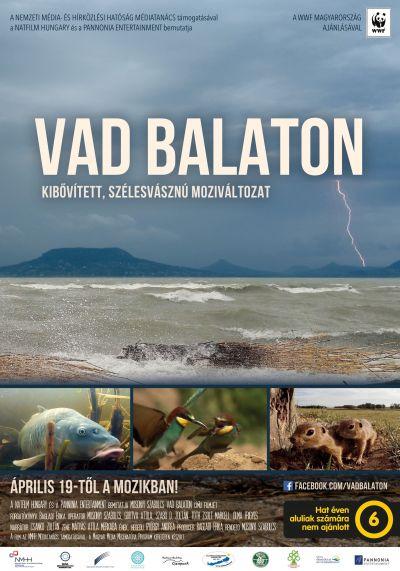 Vad Balaton - Kibővített moziváltozat – Plakát