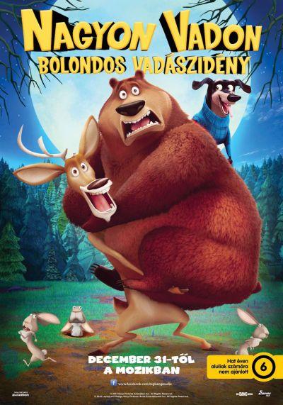 Nagyon vadon - Bolondos vadászidény – Plakát