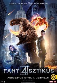 Fantasztikus Négyes – Plakát