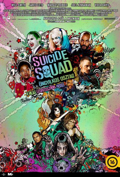 Suicide Squad - Öngyilkos osztag – Plakát
