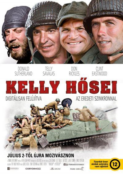 Kelly hősei – Plakát