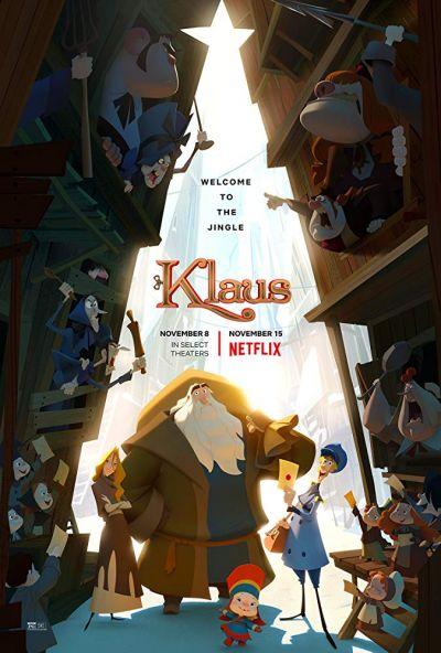 Klaus – A karácsony titkos története – Plakát