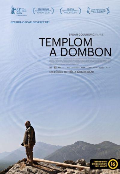 Templom a dombon – Plakát