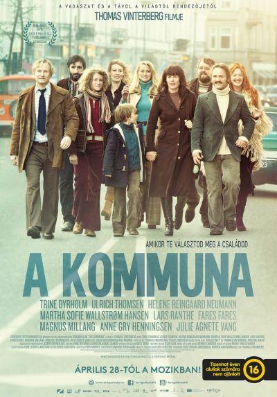 A kommuna – Plakát