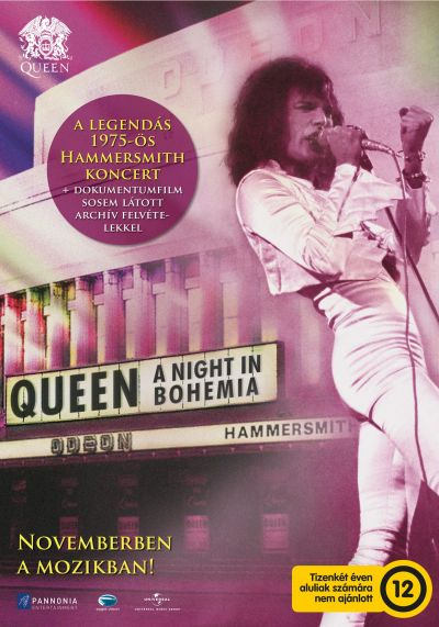 Queen: A Night In Bohemia – Plakát