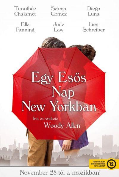 Egy esős nap New Yorkban – Plakát
