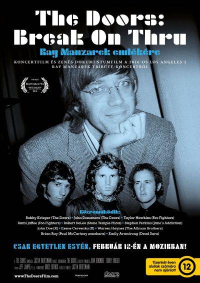 The Doors: Break On Thru – Ray Manzarek emlékére – Plakát