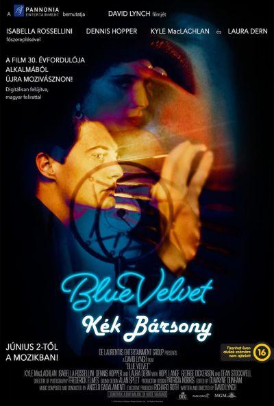 Kék bársony – Plakát