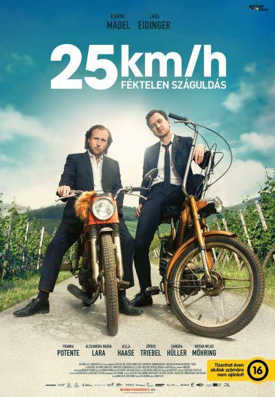 25 km/h - Féktelen száguldás – Plakát