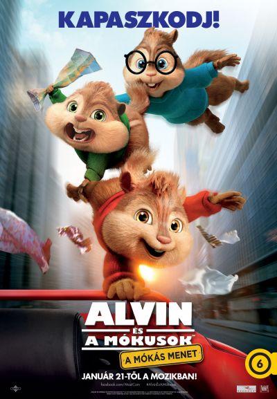 Alvin és a mókusok - A mókás menet – Plakát