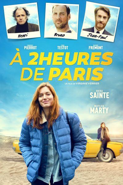 2 órára Párizstól – Plakát