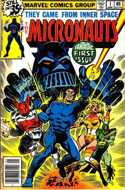 Micronauts – Plakát