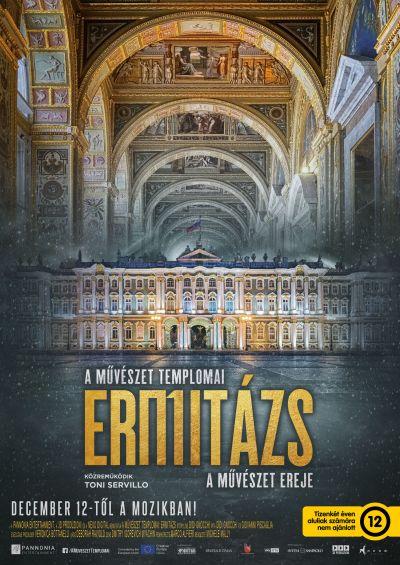 A művészet templomai: Ermitázs – A művészet ereje – Plakát