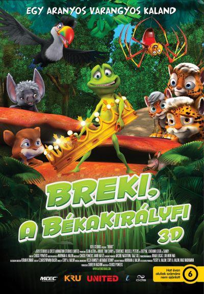 Breki, a békakirályfi – Plakát