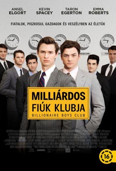 Milliárdos fiúk klubja – Plakát