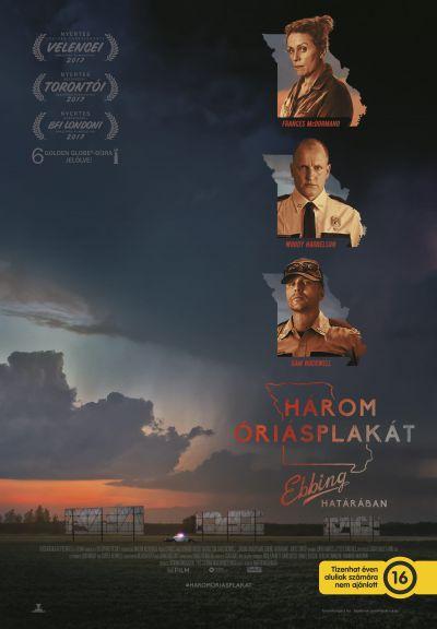 Három óriásplakát Ebbing határában – Plakát