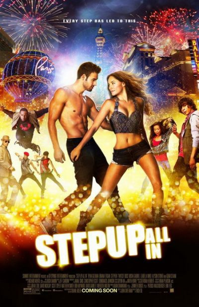 Step Up: All In – Plakát