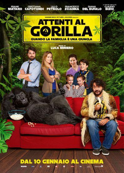 Vigyázat, gorilla! – Plakát