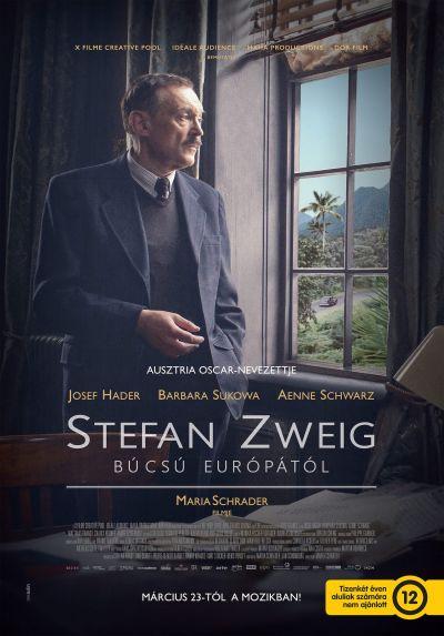 Stefan Zweig - Búcsú Európától – Plakát
