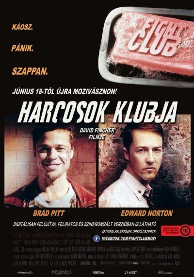 Harcosok klubja – Plakát