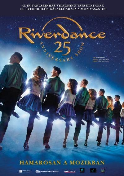 Riverdance 25. évfordulós gálaelőadás – Plakát