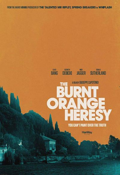 The Burnt Orange Heresy – Plakát