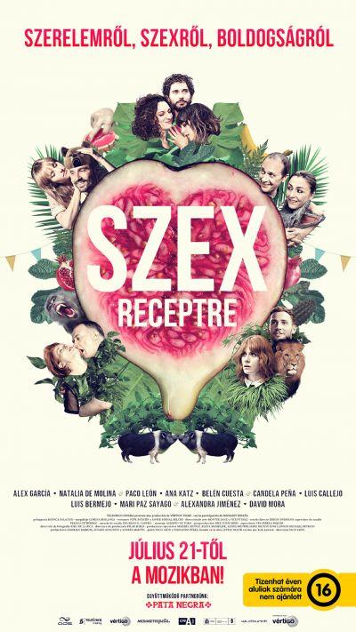 Szex receptre – Plakát