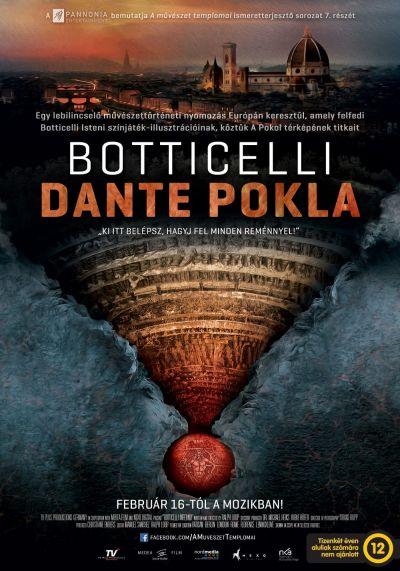 A művészet templomai: Botticelli - Dante pokla – Plakát