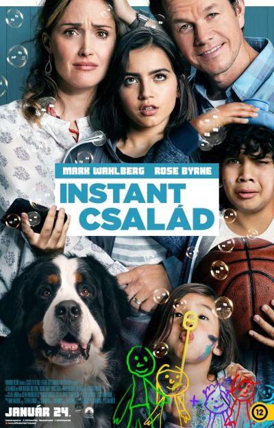 Instant család – Plakát