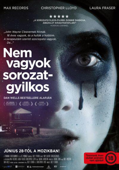 Nem vagyok sorozatgyilkos – Plakát