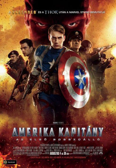 Amerika Kapitány: Az első bosszúálló – Plakát