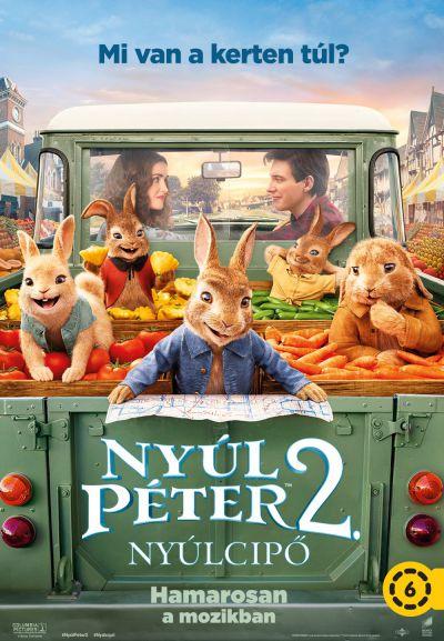 Nyúl Péter 2. - Nyúlcipő – Plakát