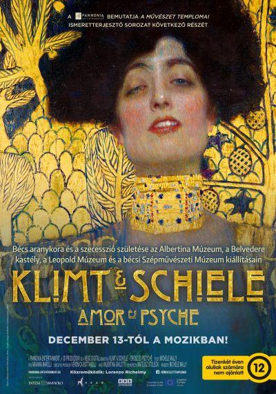 A művészet templomai: Klimt és Schiele - Amor és Psyche - A szecesszió születése – Plakát